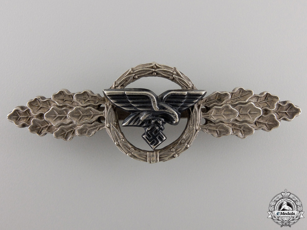 eMedals-A Luftwaffe Squadron Clasp for Transport Pilots; Silver Grade