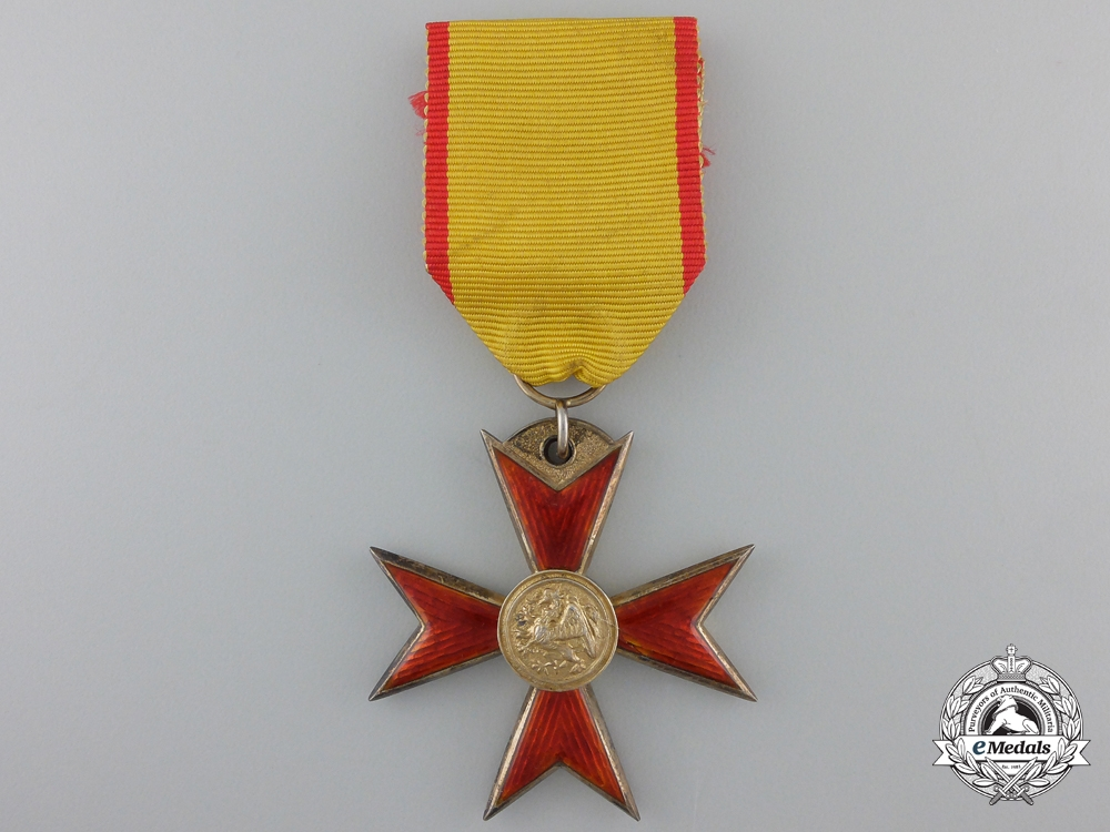 eMedals-A Mecklenburg Order of the Griffin; Knight's Cross