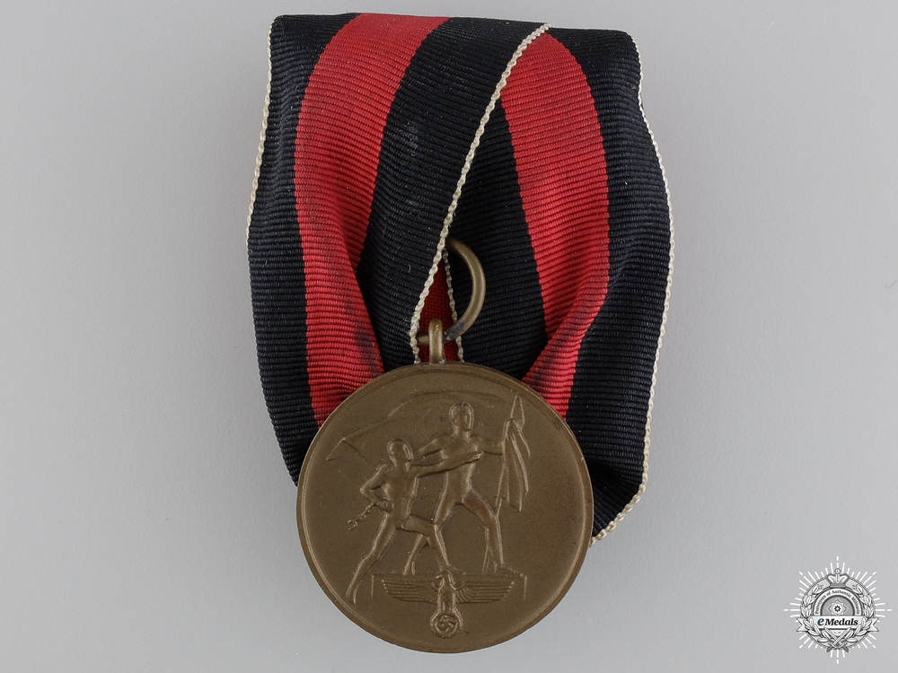 eMedals-A Medal to Commemorate 1 October 1938
