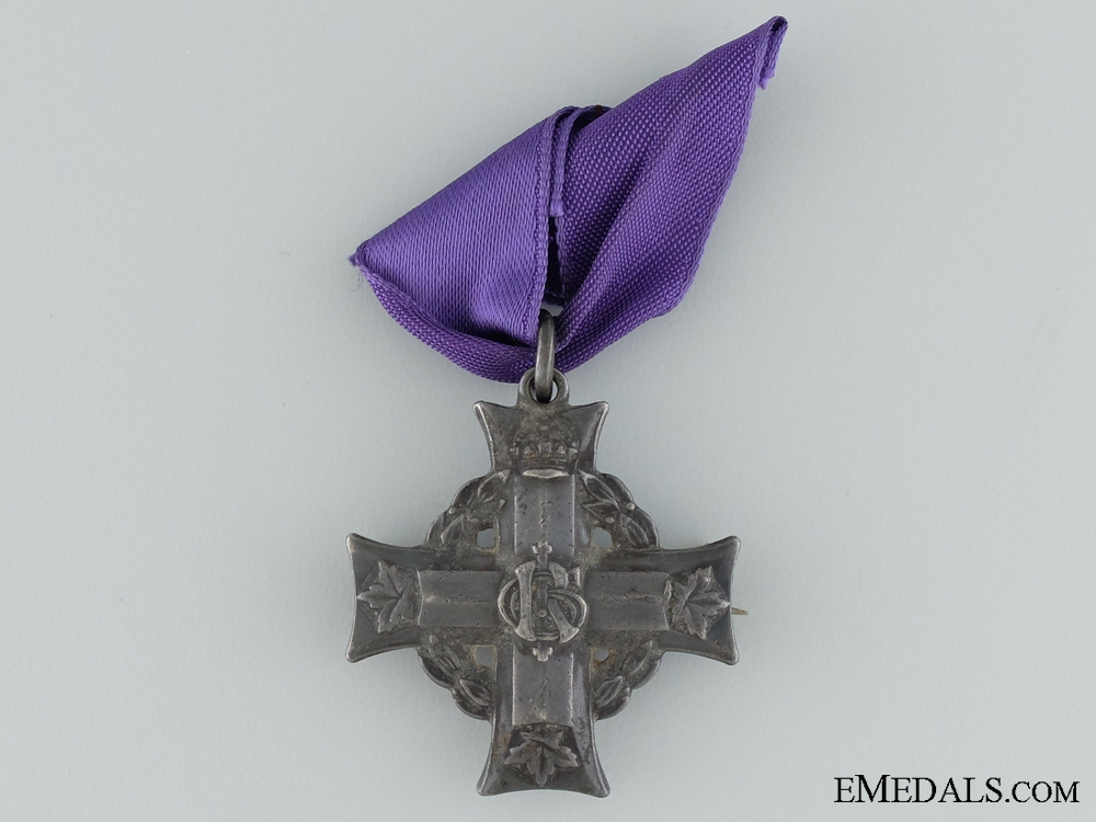 eMedals-A Memorial Cross to Cpl.Riddell; Royal Canadian Air Force