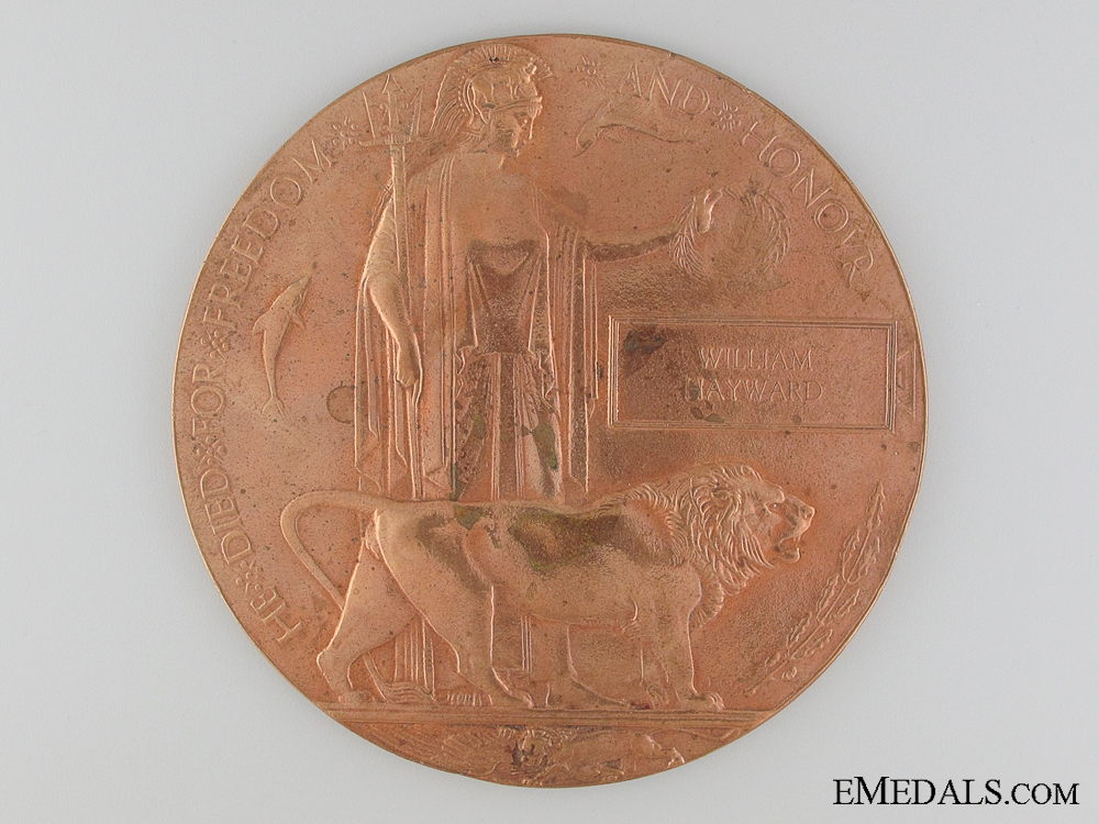 eMedals-A Memorial Plaque to the 20th Canadian Infantry
