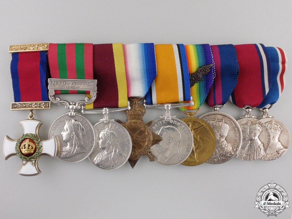 eMedals-A Mesopotamia Operations D.S.O. Group to Lieut. Col. Turner