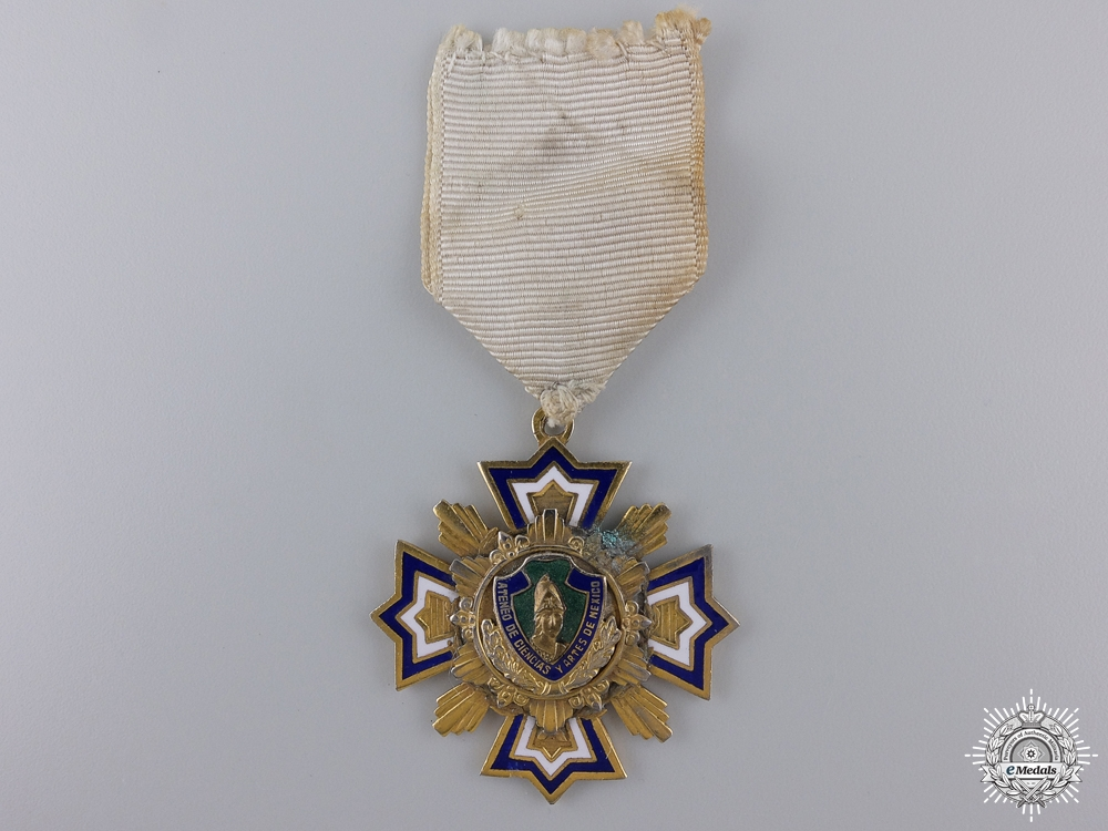 eMedals-A Mexican Atheneum Arts and Sciences Medal