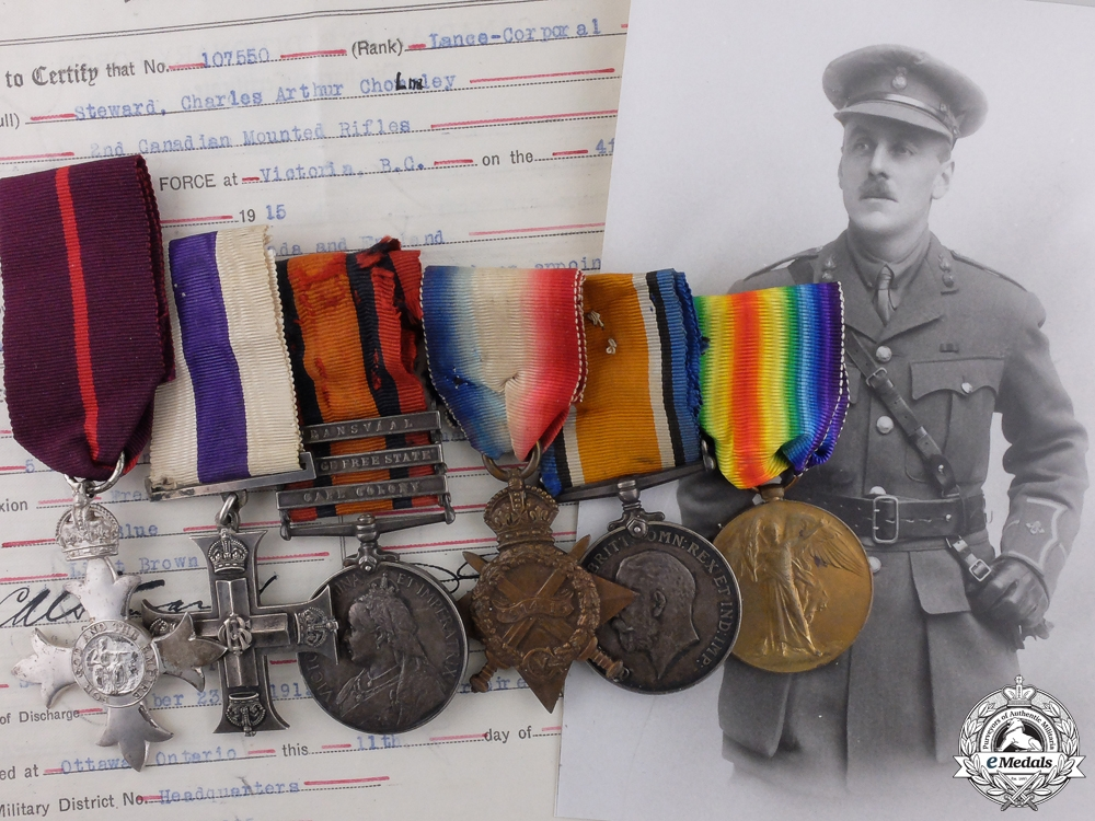 eMedals-A Military Cross Grouping for Distinguished Service in Mesopotamia 1917  Consignment #36