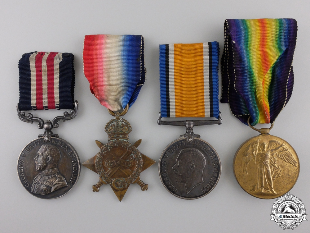 eMedals-A Military Medal Group to the 58th Brigade (Tottenham) 1918