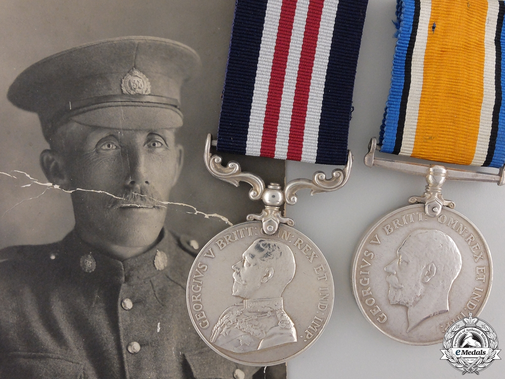 eMedals-A Military Medal to the CMGC for the Defence of the Somme 1918