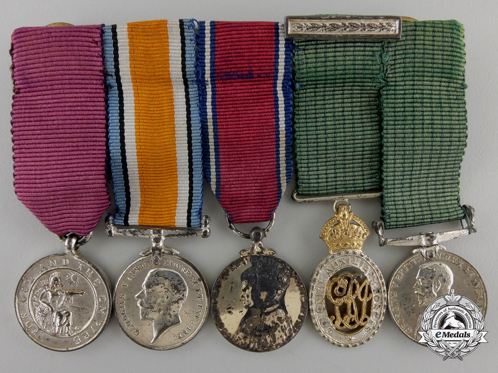 eMedals-A Miniature Order of the British Empire Efficiency Group