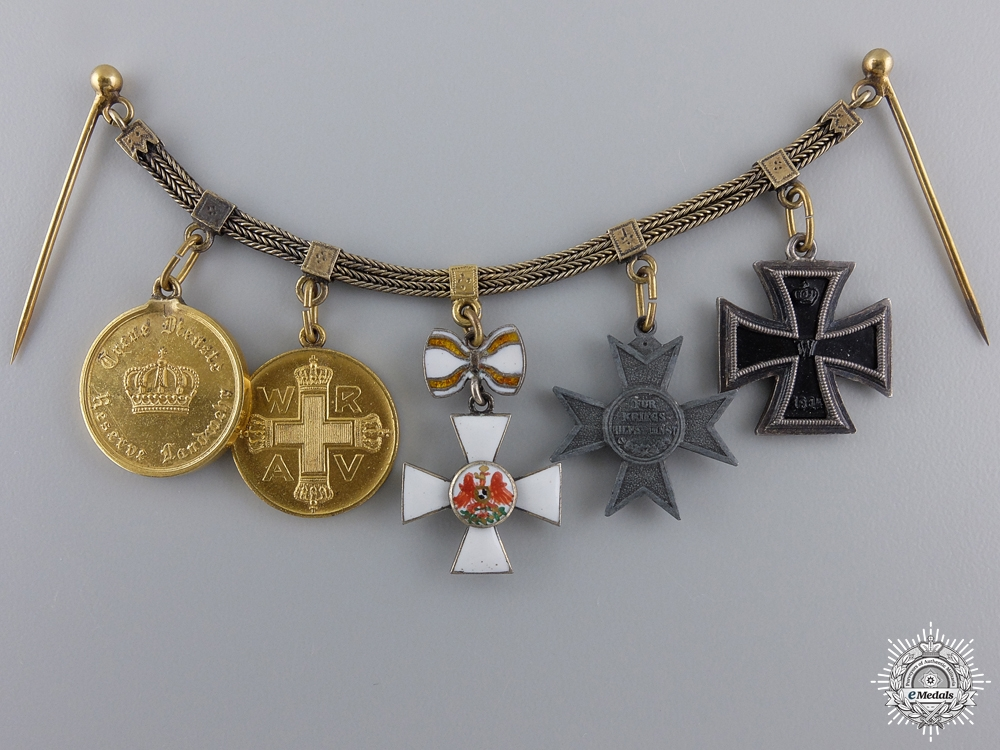 eMedals-A Miniature Prussian Group of Five