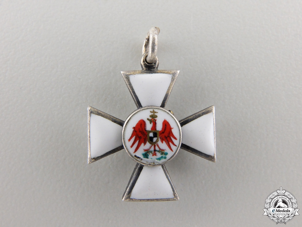 eMedals-A Miniature Prussian Order of the Red Eagle