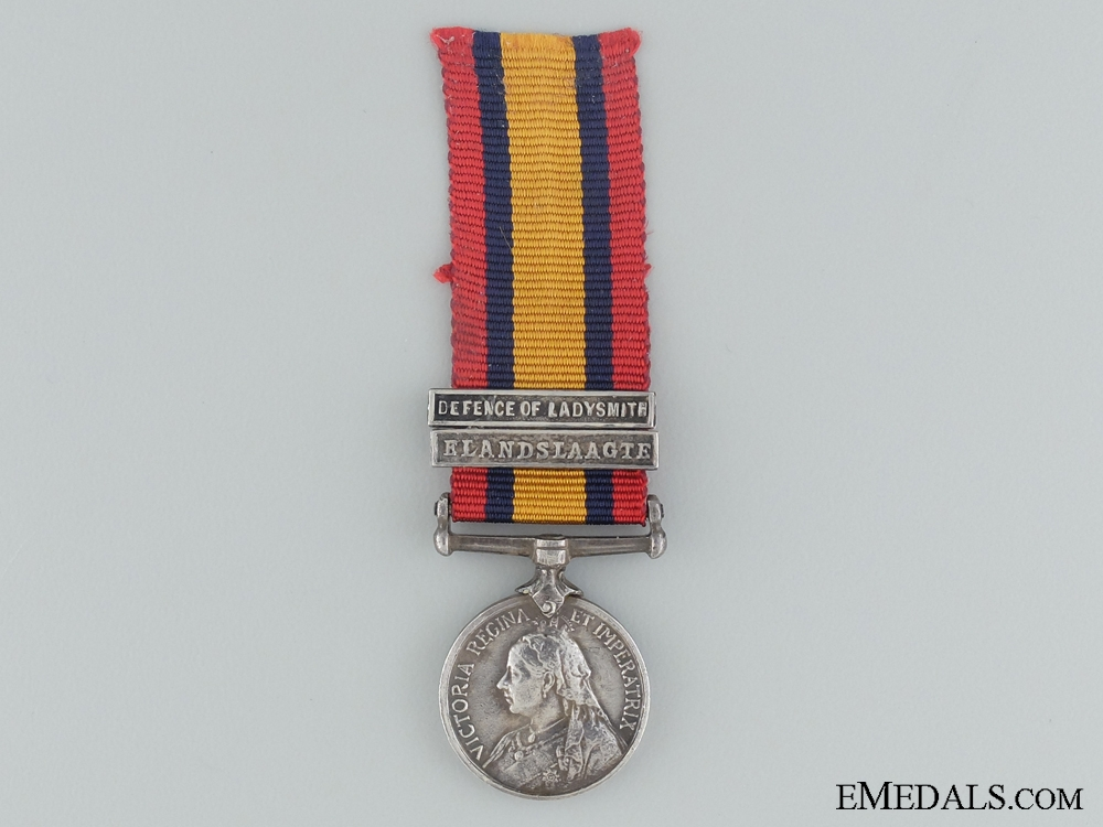 eMedals-A Miniature Queen's South Africa Medal