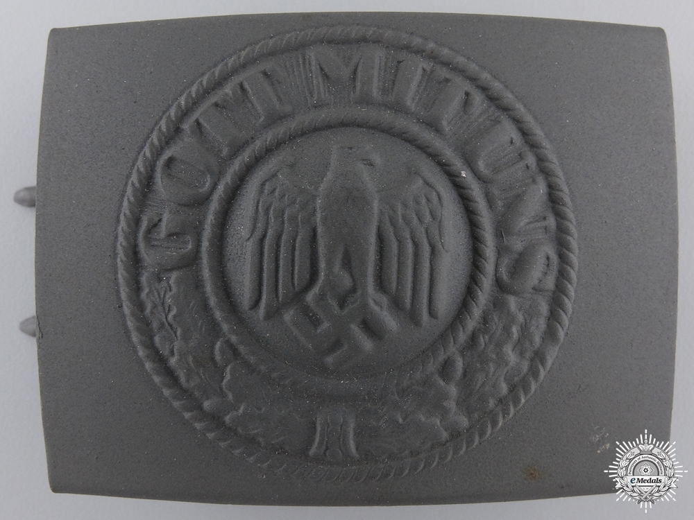 eMedals-A Mint Army Belt Buckle by Paul Cramer & Co