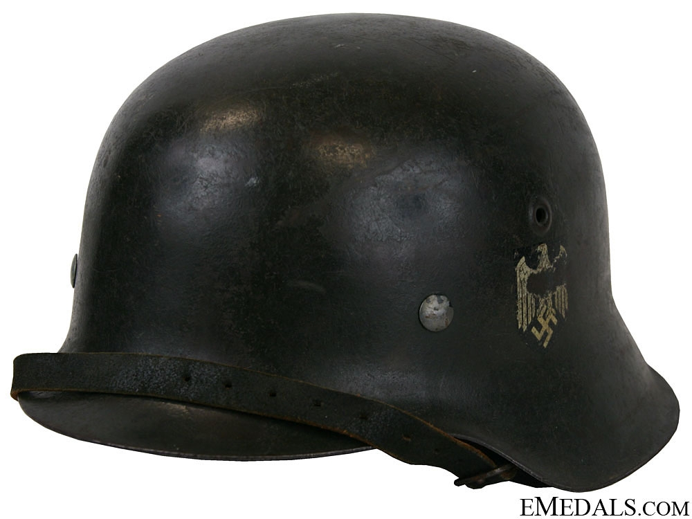 eMedals-A Model 1942 Army Single Decal Helmet