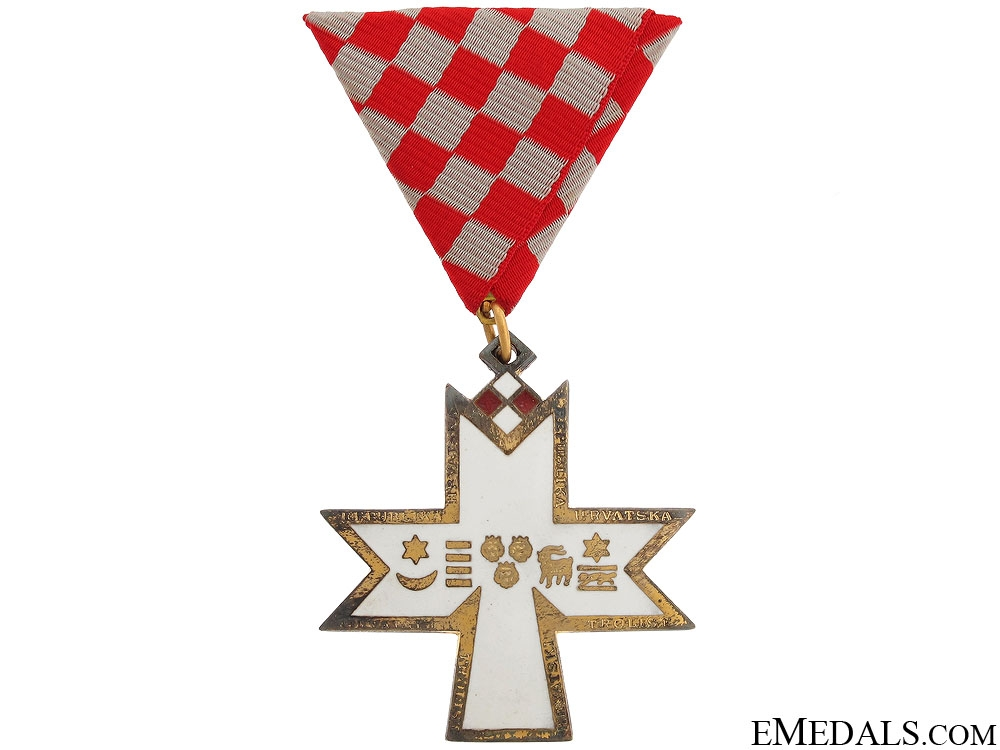 eMedals-A Modern Order of the Croatian Trefoil