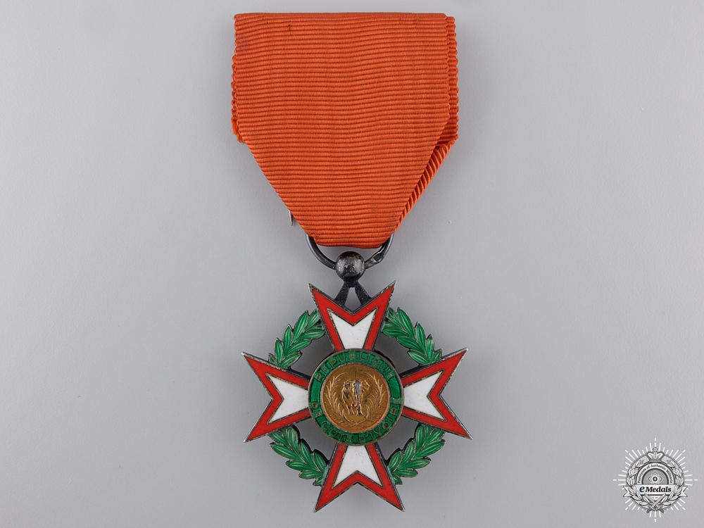 eMedals-A National Order of the Republic of the Ivory Coast; Knight