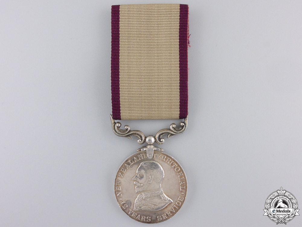 eMedals-A New Zealand Territorial Service Medal to the Otago  Hussars
