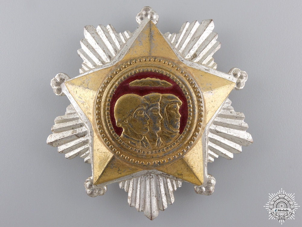 eMedals-A North Korean Order of Military Service Honour; 2nd Class