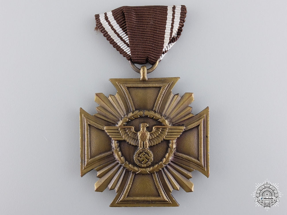 eMedals-A NSDAP Long Service Award for 10 Years Service