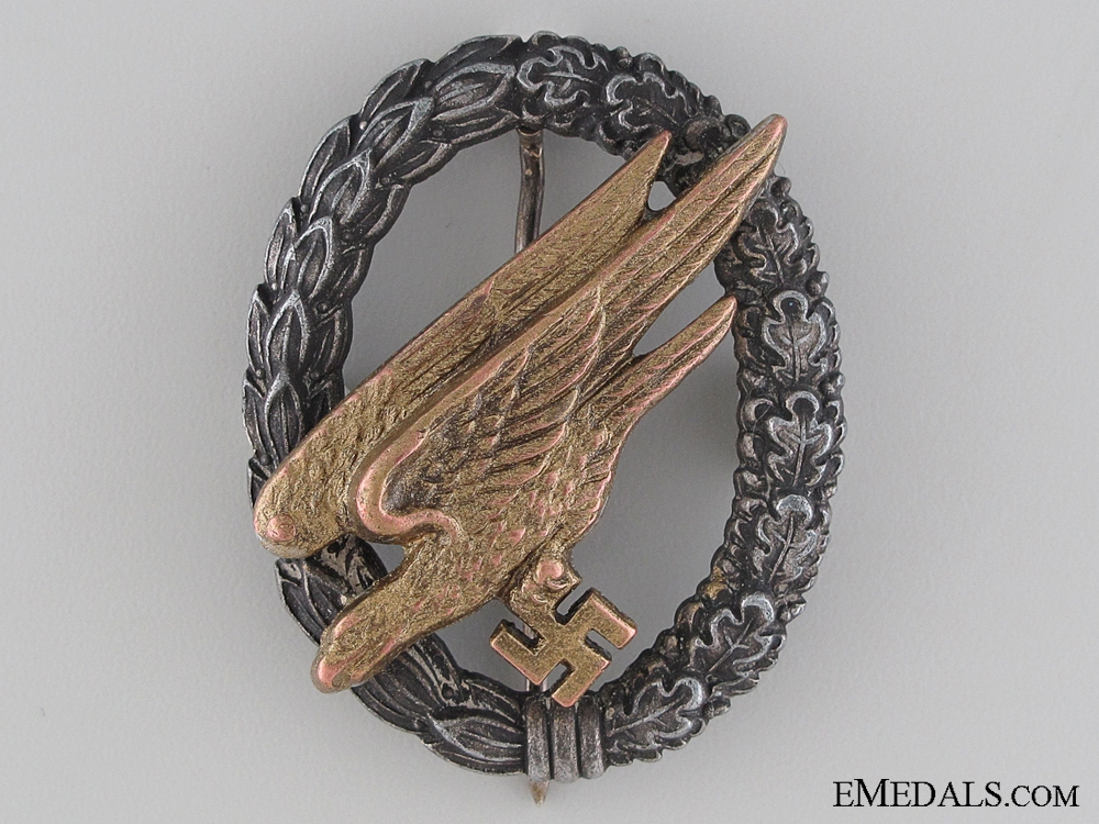 eMedals-A Paratrooper Badge by Steinhauer & Lück; Cupal Eagle