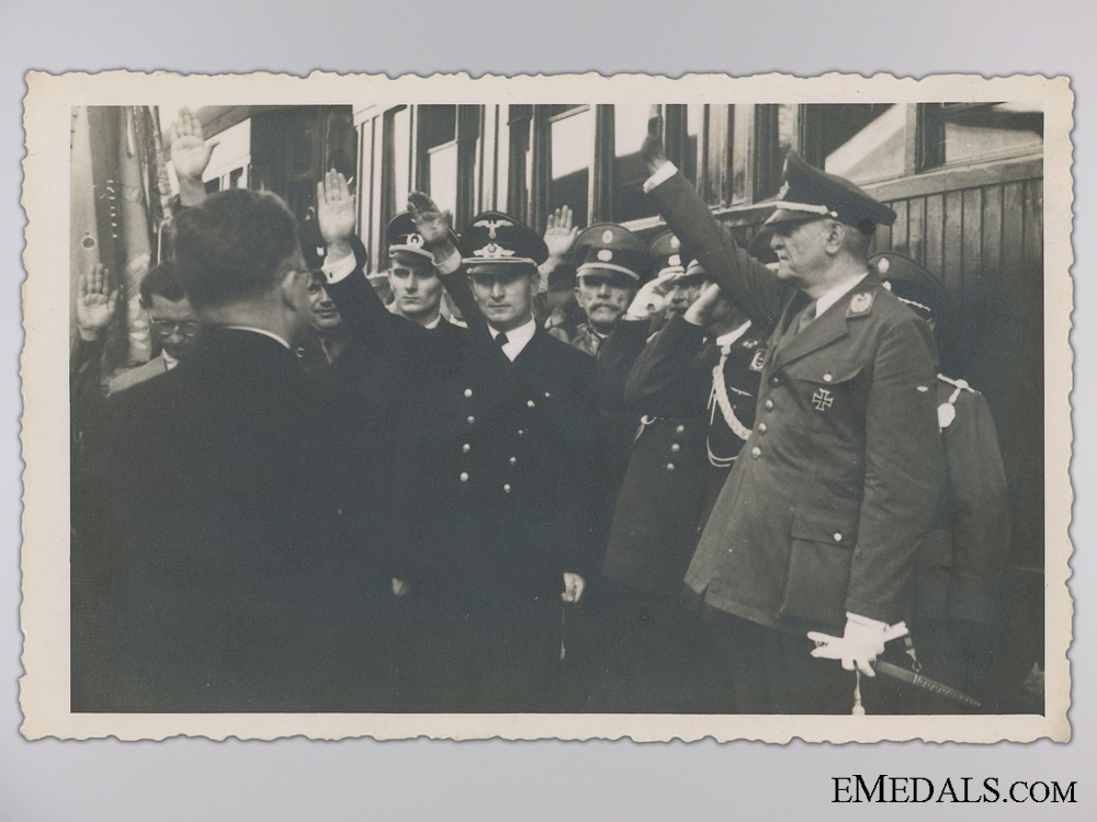 eMedals-A Period Photograph; Luftwaffe and Diplomatic Corps