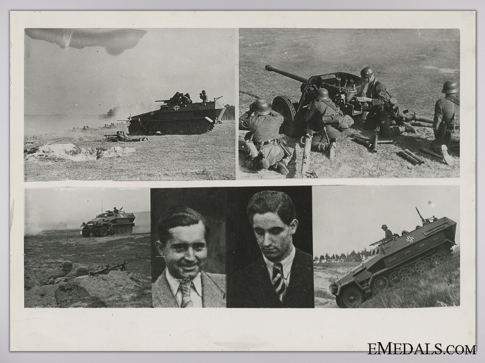 eMedals-A Period Photograph; Panzer Grenadiers