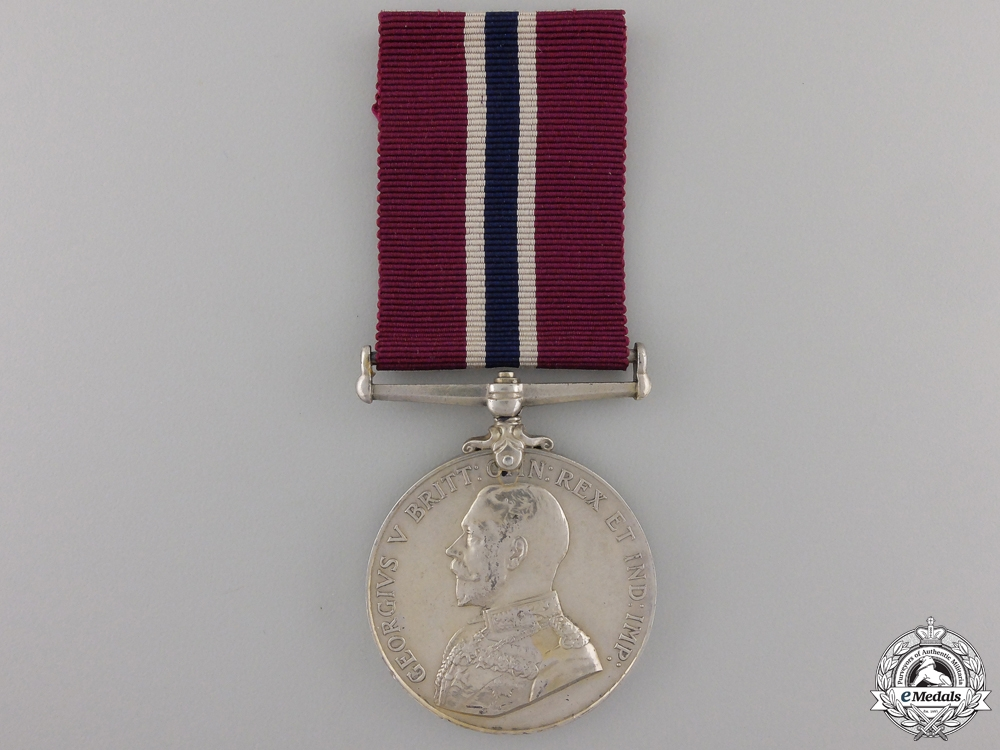 eMedals-A Permanent Forces of the Empire Beyond the Seas Long Service and Good Conduct Medal