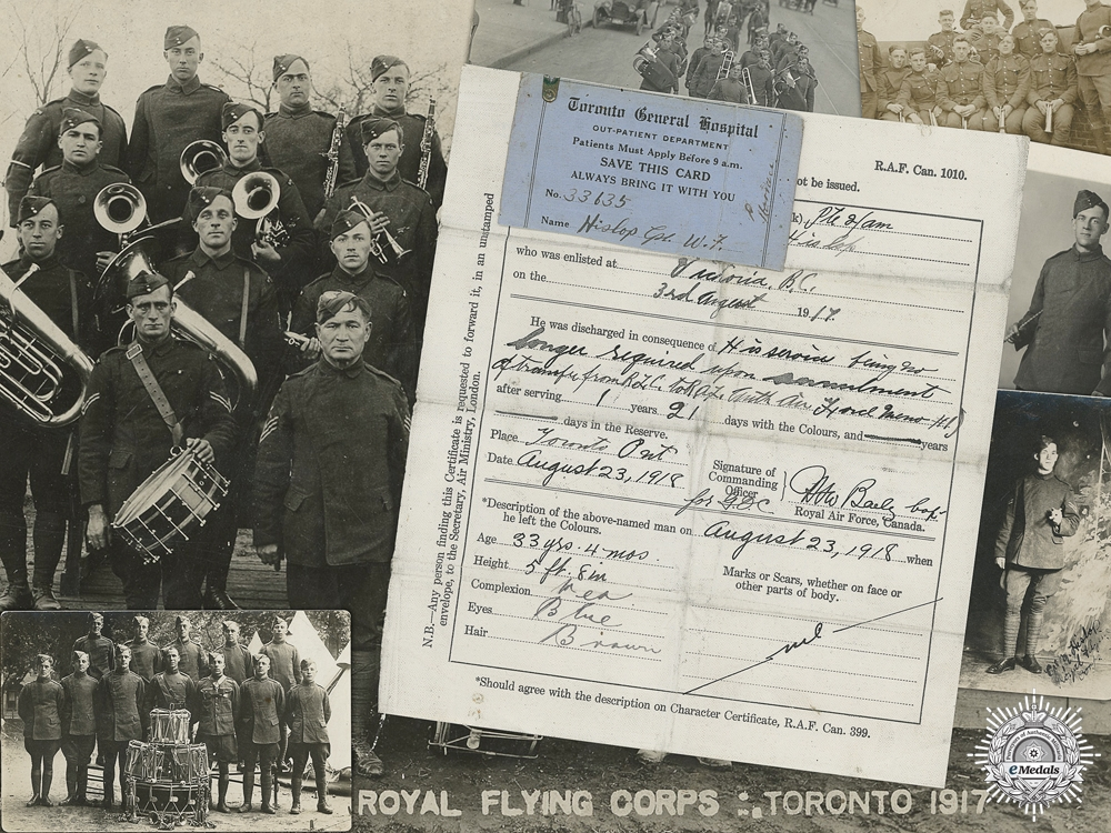 eMedals-A Photograph Collection to the Royal Flying Corps 1917