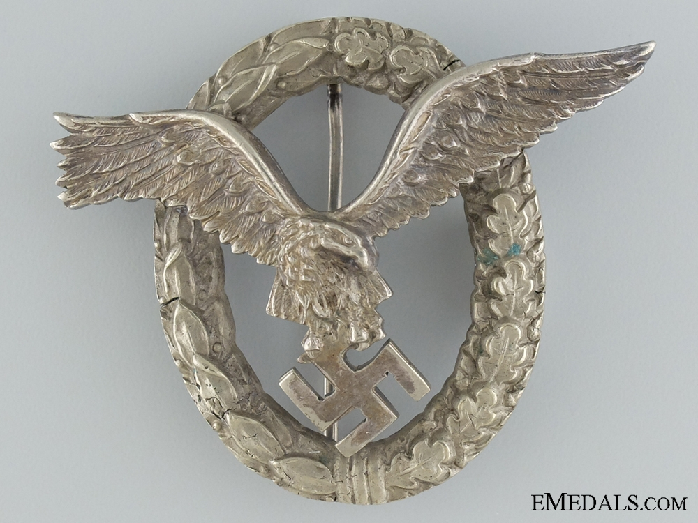 eMedals-An Early Pilot Badge by Junker (J-2)