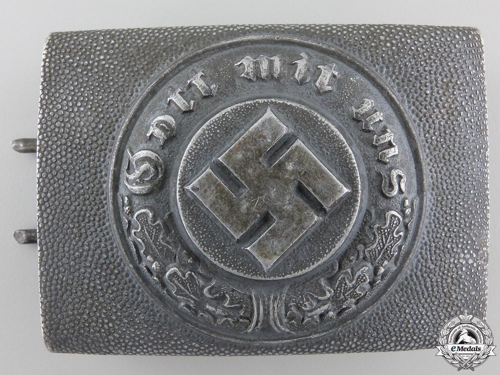 eMedals-A Police Belt Buckle; Marked