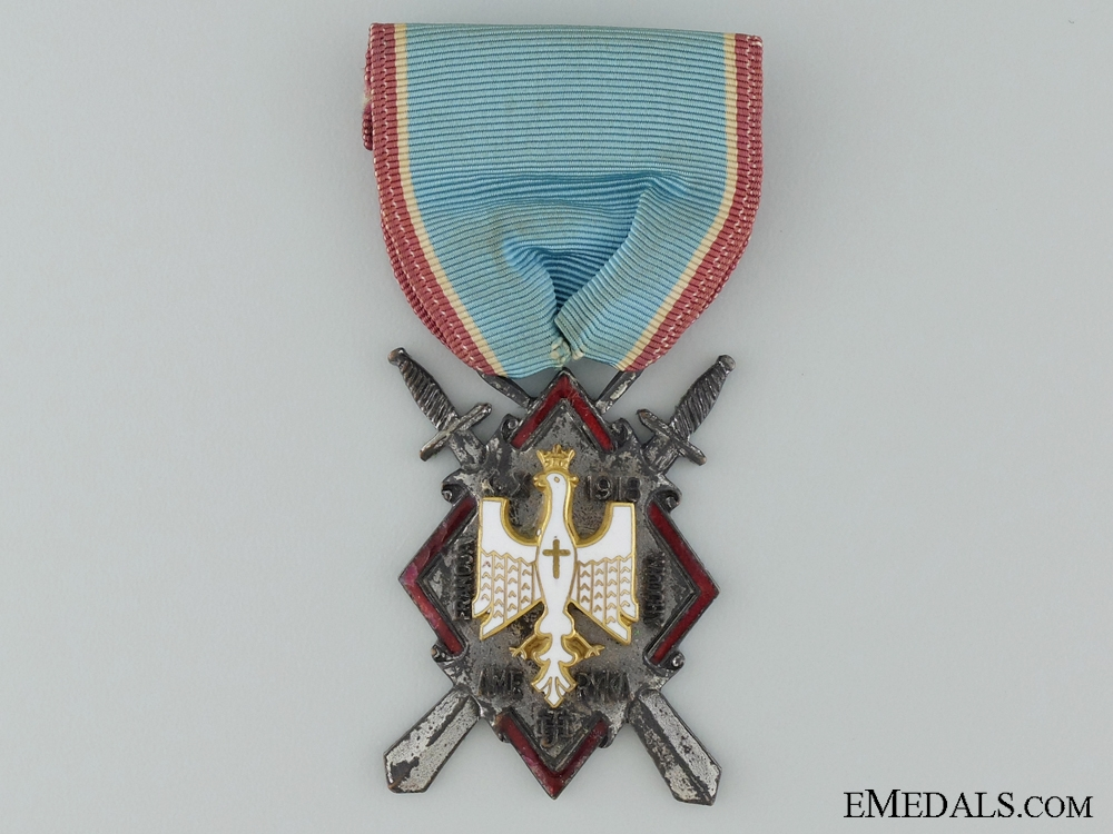 eMedals-A Polish First War Haller's Swords Decoration for Americans