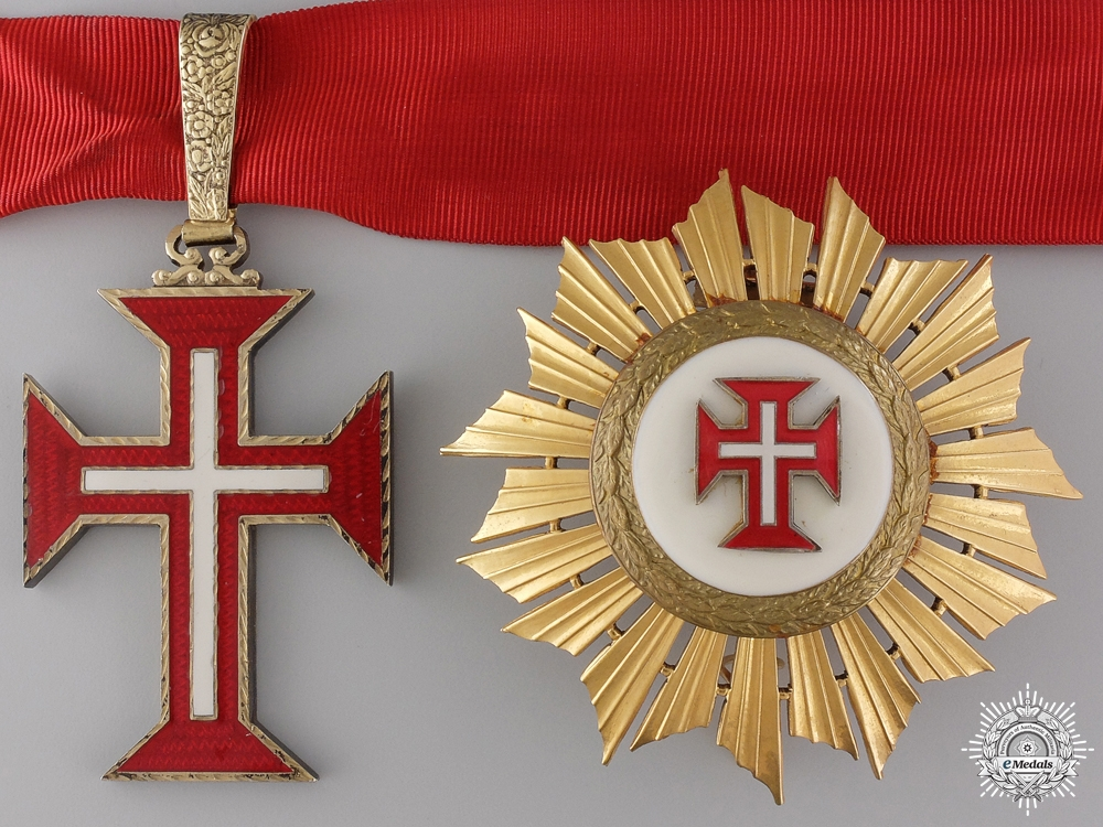 eMedals-A Portuguese Military Order of the Christ; Grand Officer