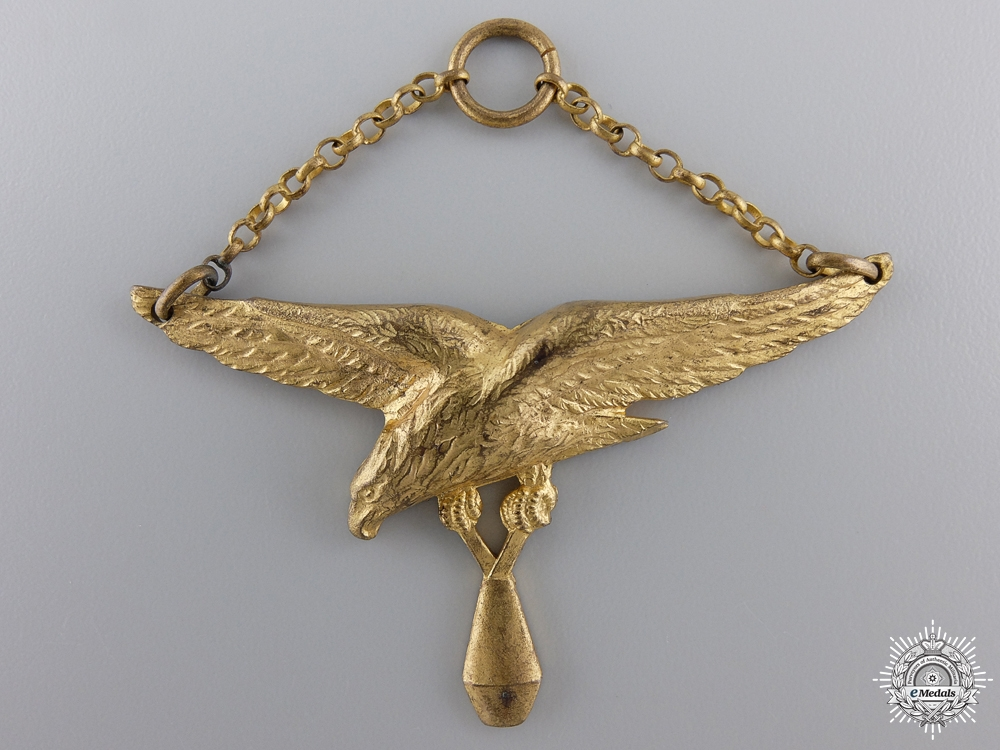 eMedals-A Pre Second War French Navy Bomber Badge