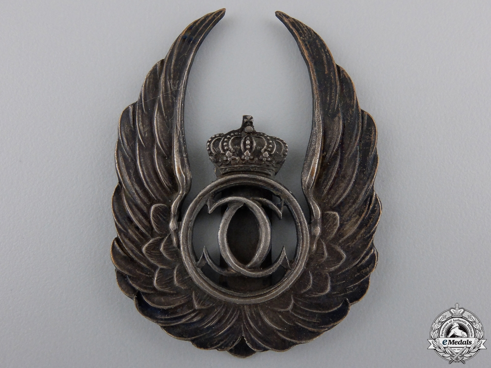 eMedals-A Pre Second War Air Force Observer Badge by A. Gruenberg
