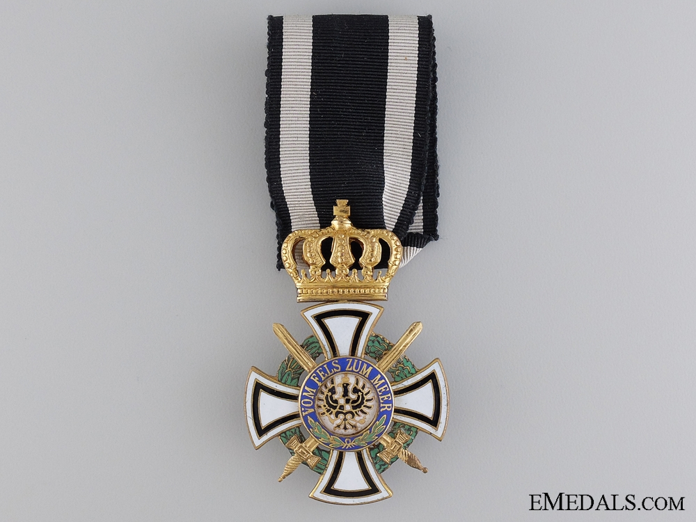eMedals-A Prussian House Order of Hohenzollern; Knight's Cross