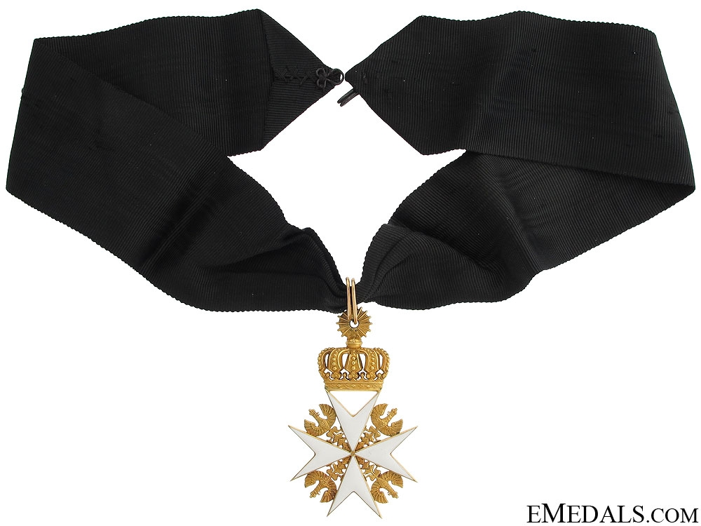 eMedals-A Prussian Order of St.John in Gold c.1880