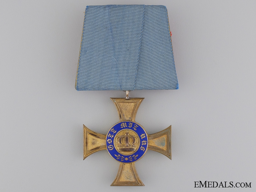 eMedals-A Prussian Order of the Crown; Fourth Class by Brothers Friedländer