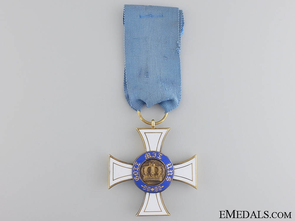 eMedals-A Prussian Order of the Crown in Gold by Wagner