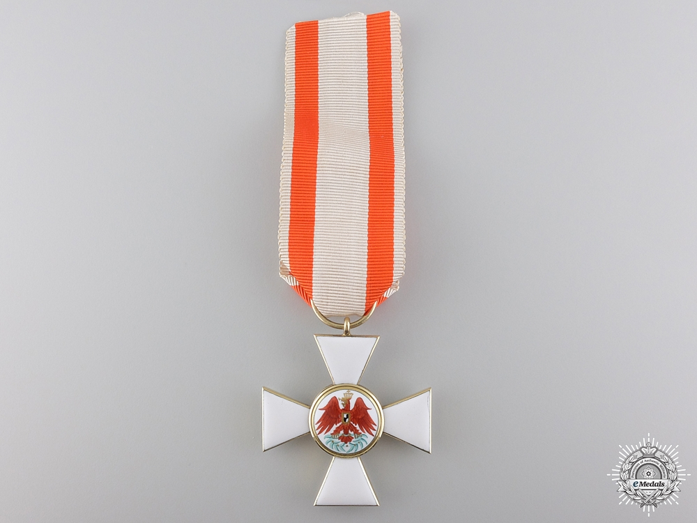 eMedals-A Prussian Order of Red Eagle; 3rd Class in Gold by Wilm