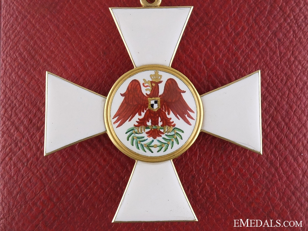 eMedals-A Prussian Red Eagle Order; Second Class Cross