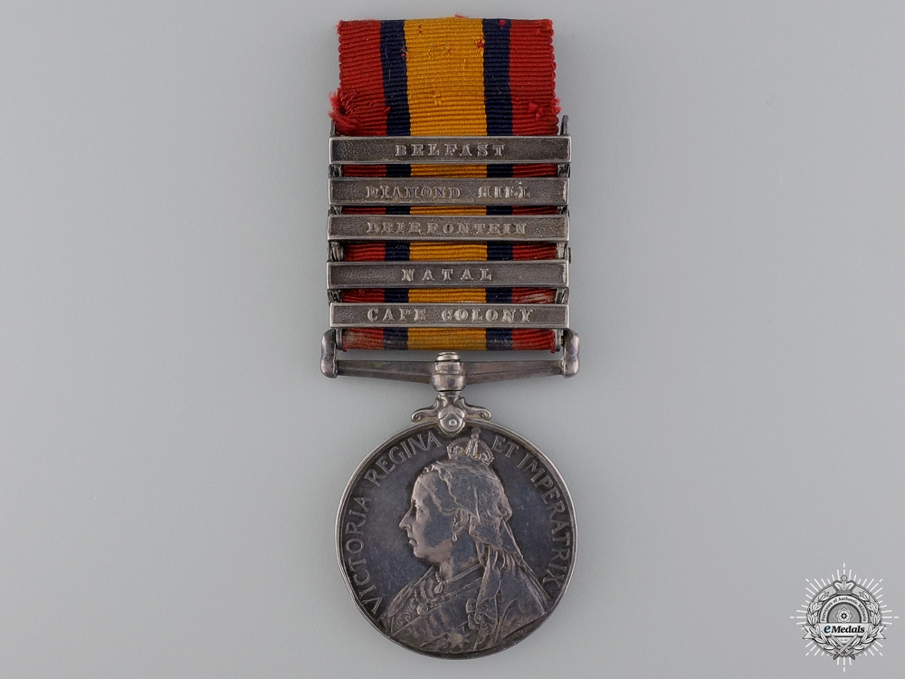 eMedals-A Queen's South Africa Medal to the West Surrey Regiment