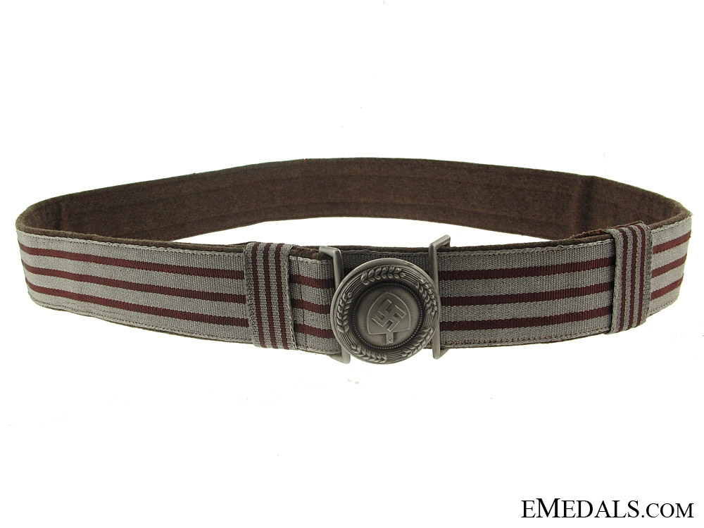 eMedals-A RAD Officers Brocade Belt and Buckle