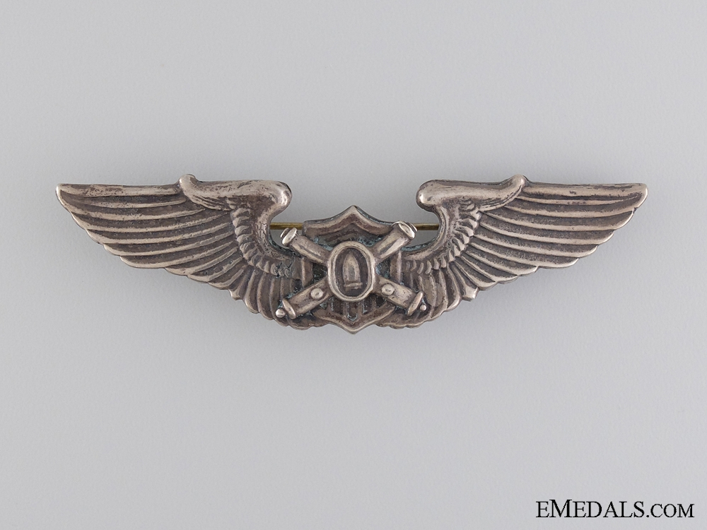 eMedals-A Rare American WWII Unofficial Observer or Liaison Wings Badge