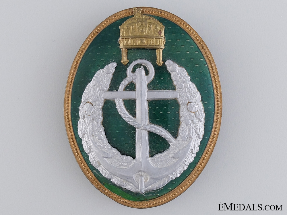 eMedals-A Rare Hungarian Boat Leader's Badge