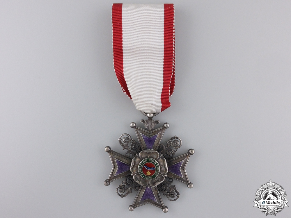 eMedals-A Rare Lippe-Detmold Order of Leopold; 3rd Class