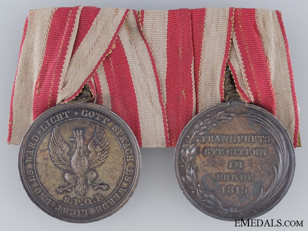 eMedals-A Rare Pair of Napoleonic Medals
