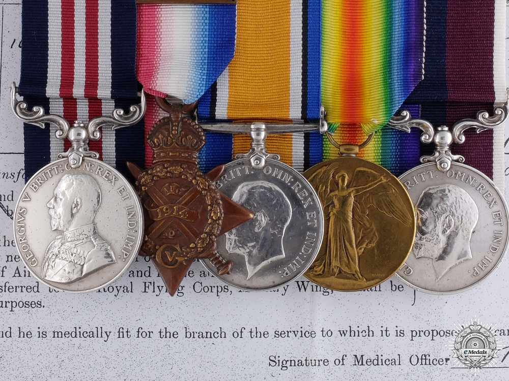 eMedals-A Rare RAF MM Group for Liaising with the Royal Artillery