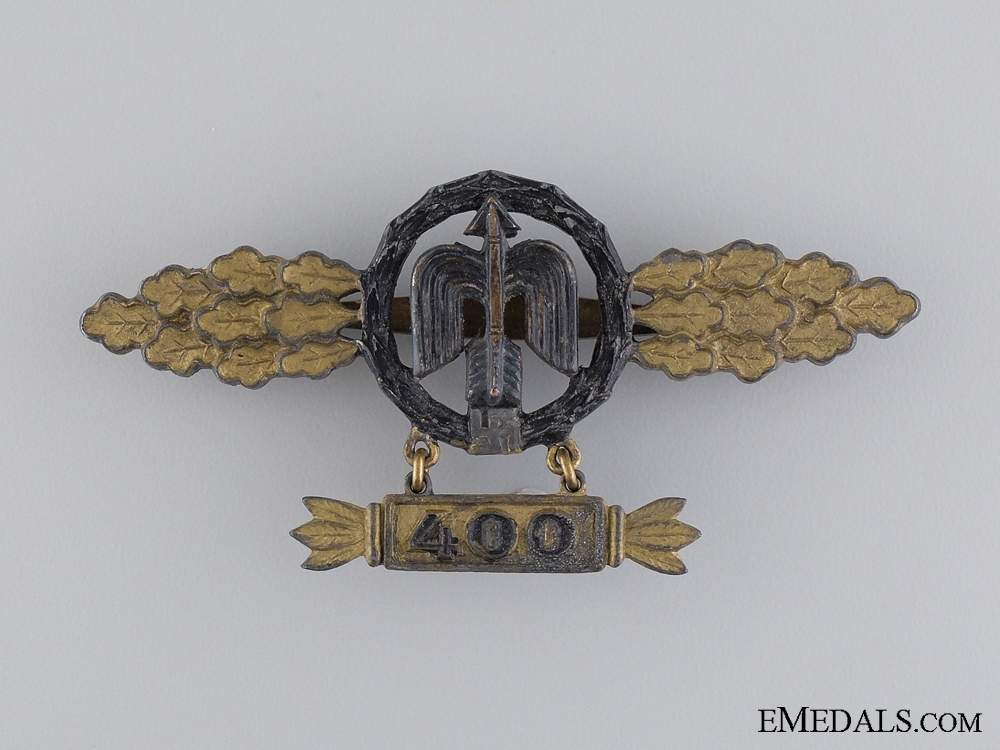 """eMedals-A Rare Short Range Night Fighter Clasp by """"S & L"""""""