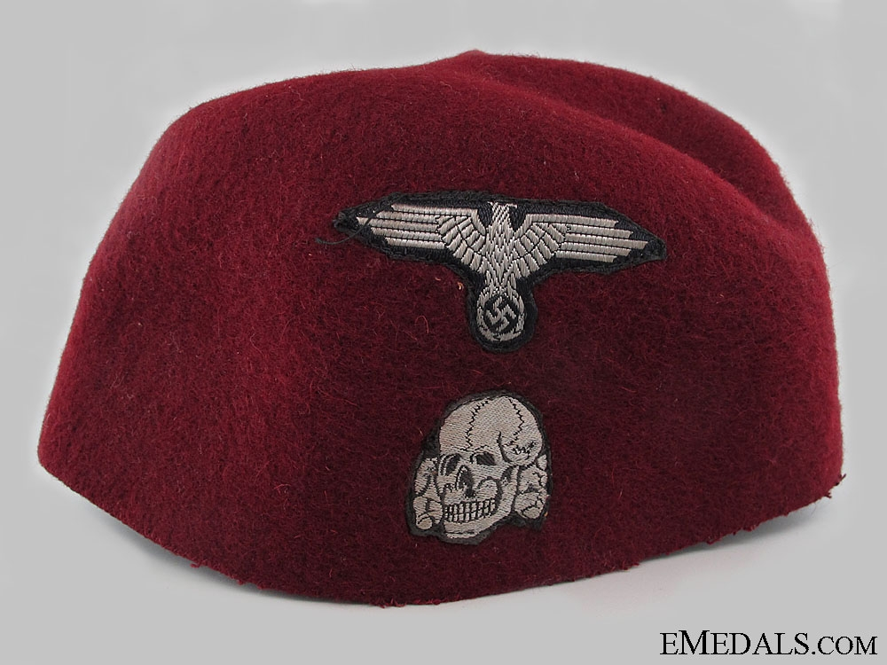 eMedals-A Rare SS Fez of the 13th Handschar Division
