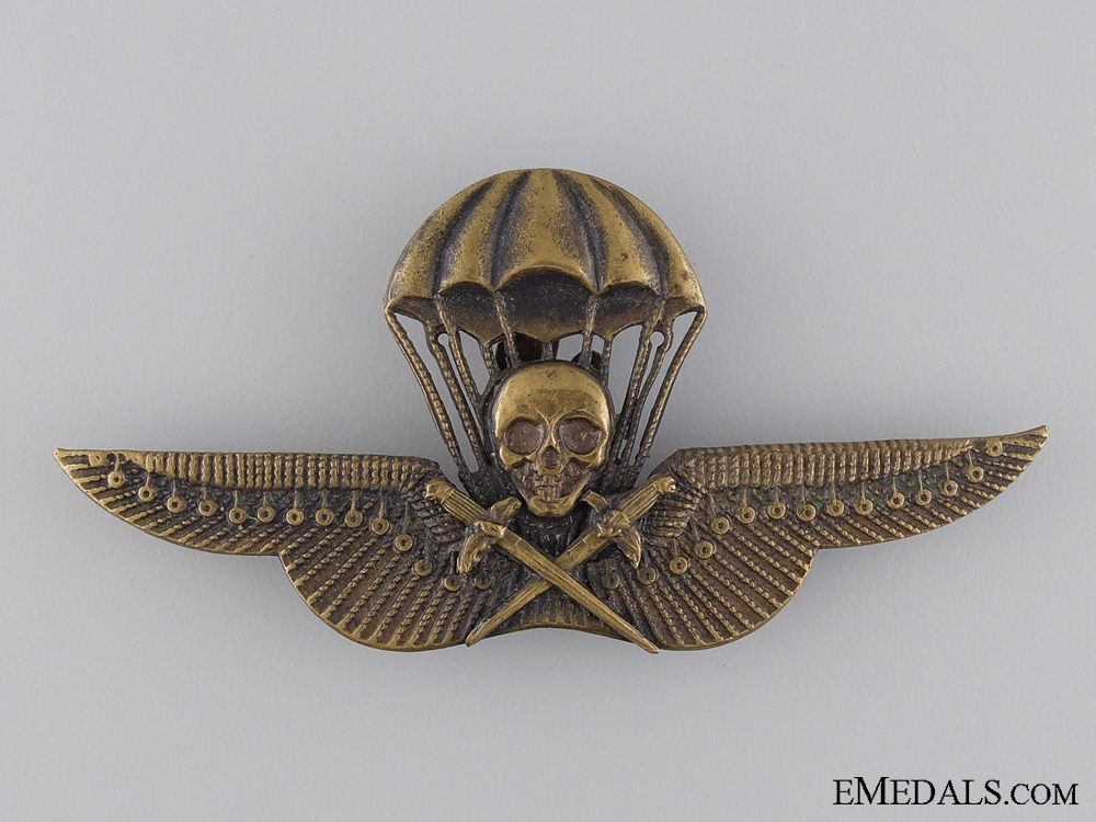 eMedals-A Rare WWII Hungarian Paratrooper's Badge