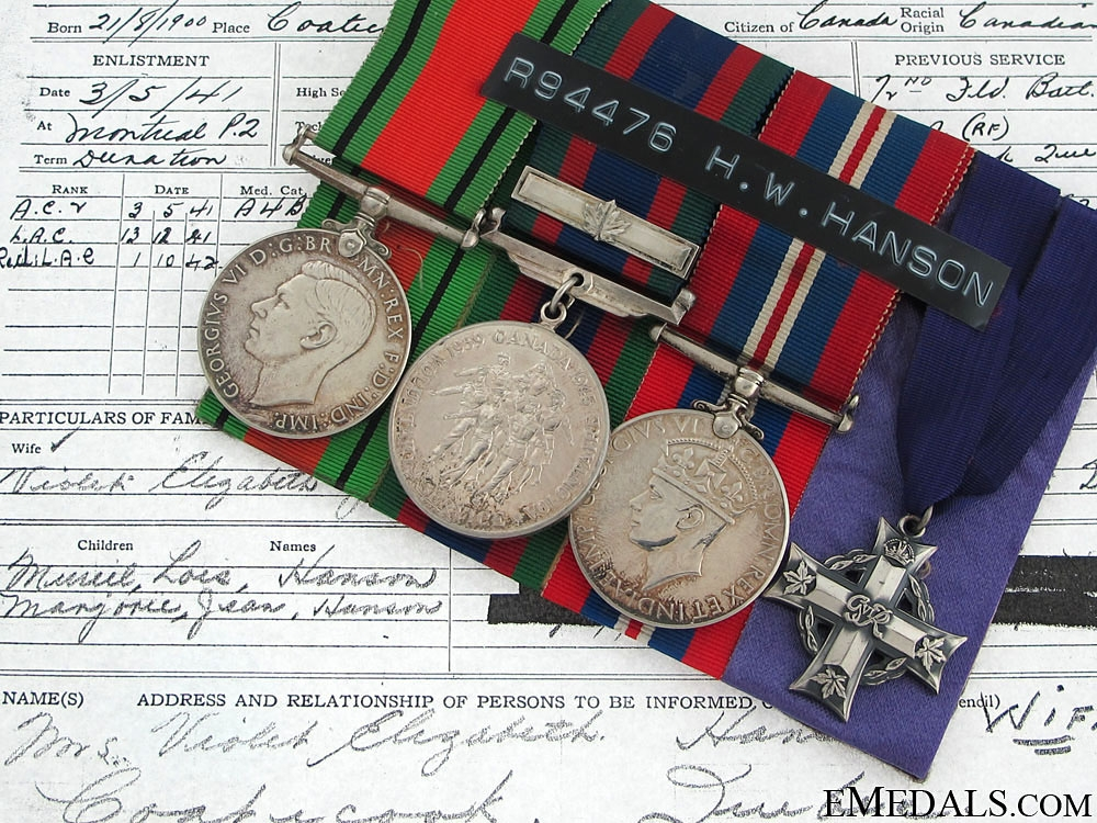 eMedals-A RCAF Memorial Group