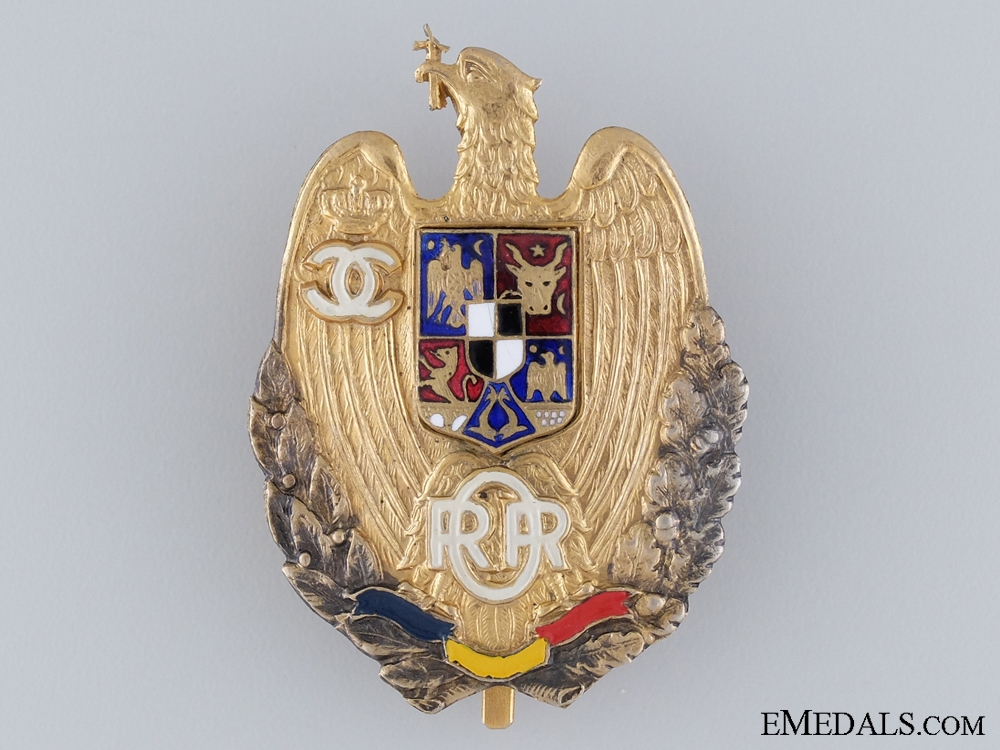 eMedals-A Retired Romanian Officer`s Badge